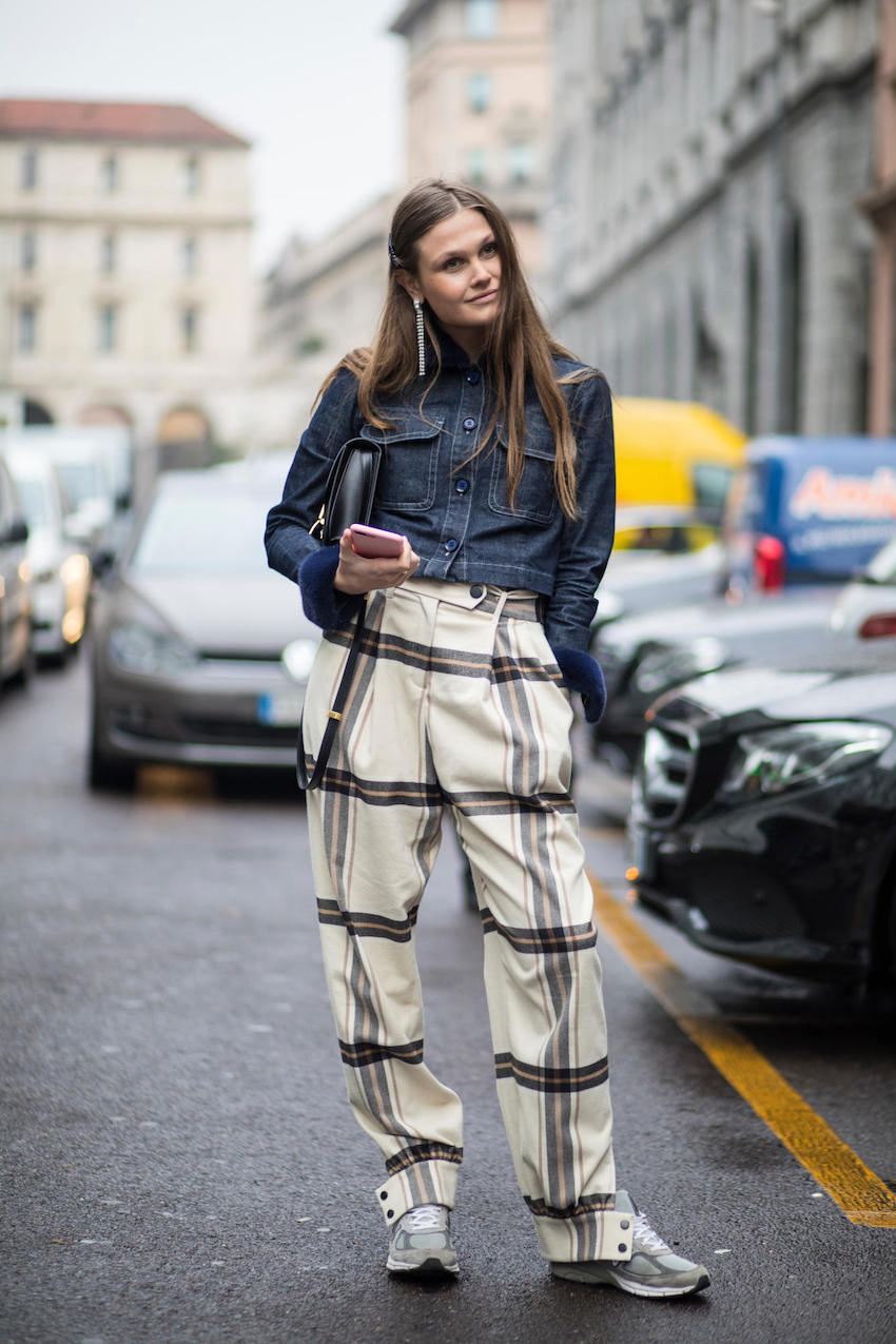 "International Street Style Fashion - Milan: <a href=""http:///fashionista.com""target=""_blank"">Fashionista</a>"