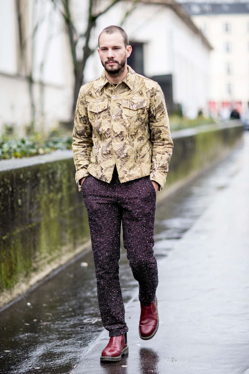 "International Street Style Fashion - Paris: <a href=""http://esquire.com""target=""_blank"">Esquire</a>"