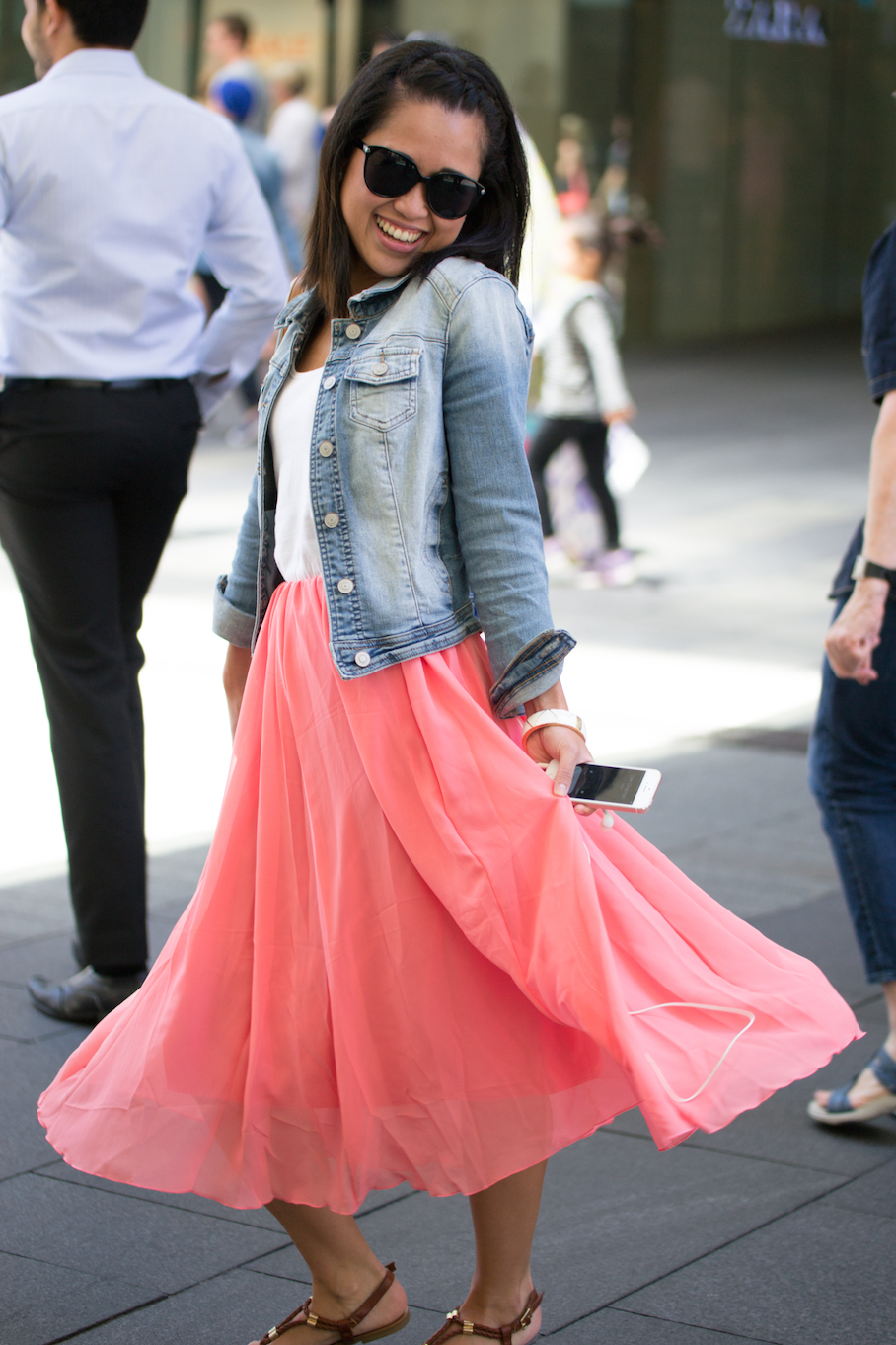 "NSW: Putri Rahma, Nurse, Sydney. ""My personal style is girly."" Photo: Alice Sciberras"