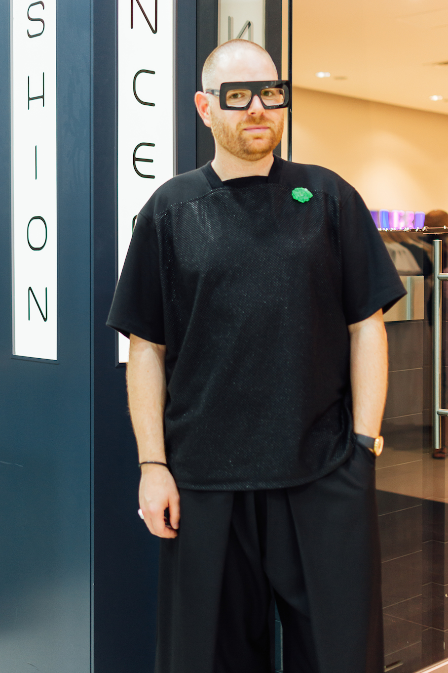 "SA: Simon Williams, Designer, Adelaide Central Plaza. ""I love making things."""