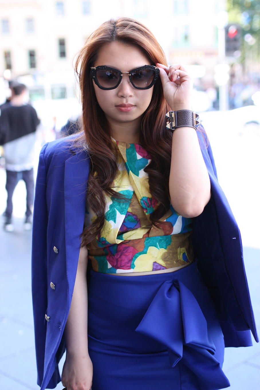 "Vic: Karlina Teguh, Student, Flinders St Station. ""Style is a way to say who you are without having to speak."" Photo: <a href=""http://www.marythamphotography.weebly.com/"" target=""_blank"">Mary Tham </a>"