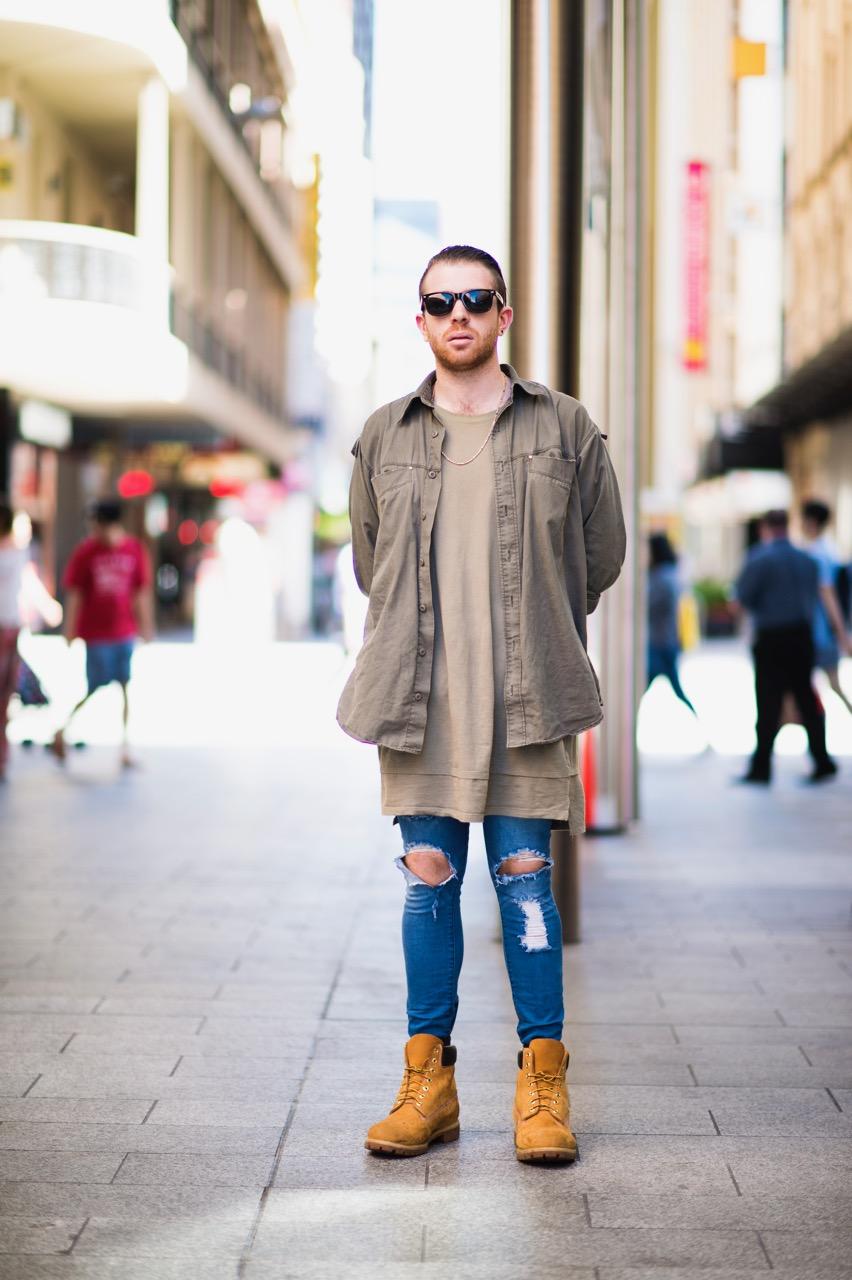 "SA: Sheamus, Adelaide. ""I wear what I like."" Photo: Eli Francis"