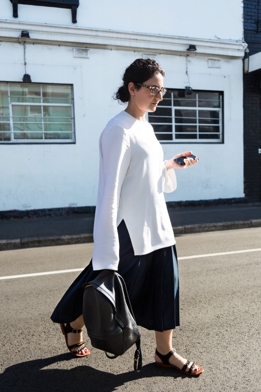 "VIC: Victoria Thaniotis, Chapel St. ""I'm all about the classic, contemporary, minimalist look."" Photo: Libby Matson"