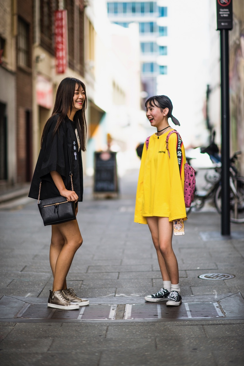 SA: Sophia & Tian Ying, Twin St, Adelaide. Photo: Eli Francis