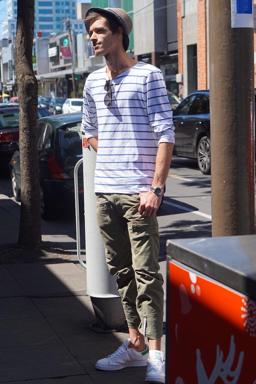"VIC: Corey, Business Student, Chapel St South Yarra. ""Fashions fade, style is eternal."""