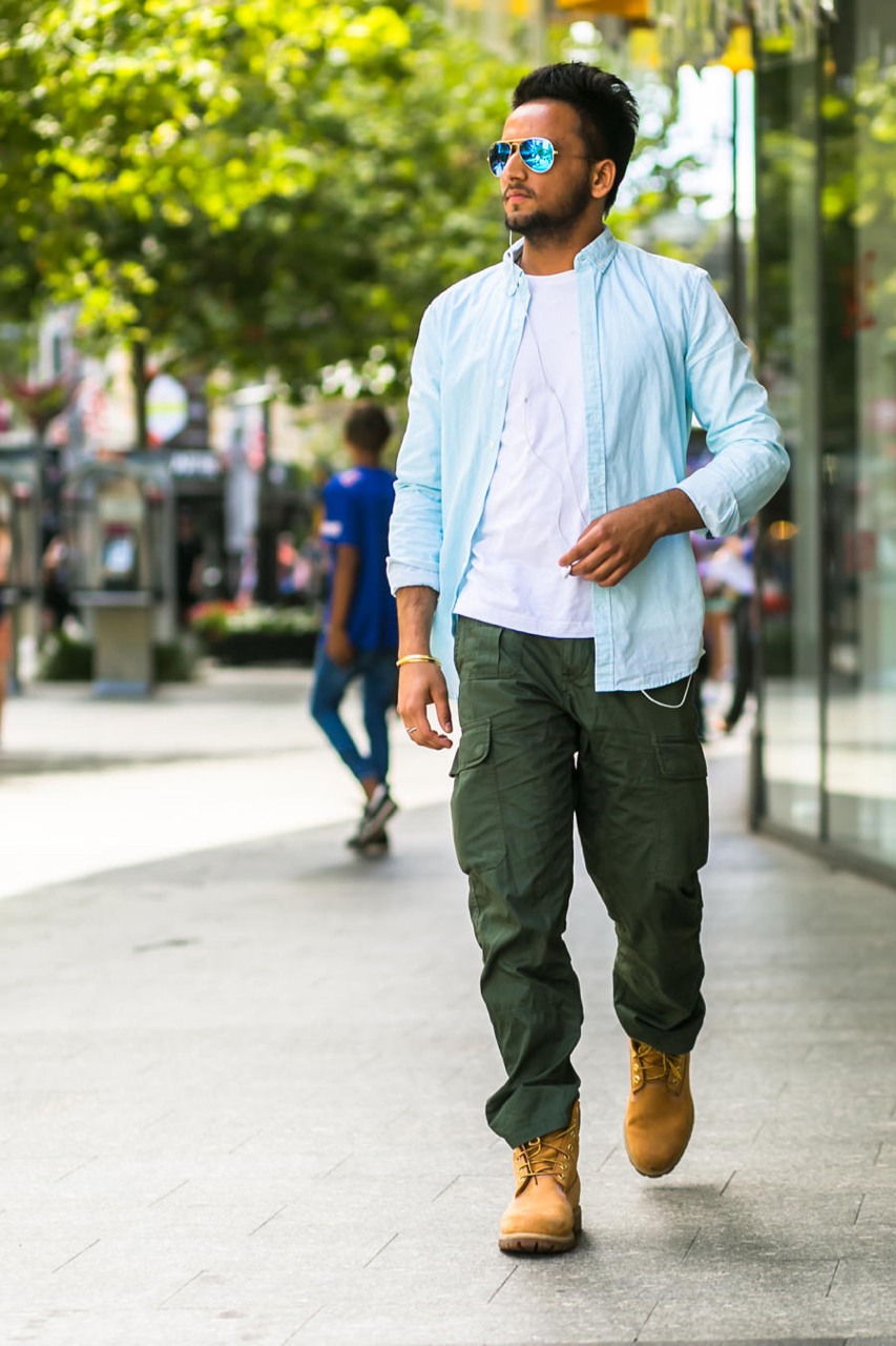 "WA: Harman, Chef, Perth City. ""I just wear what I like to wear."" Photo: Alain Quah"