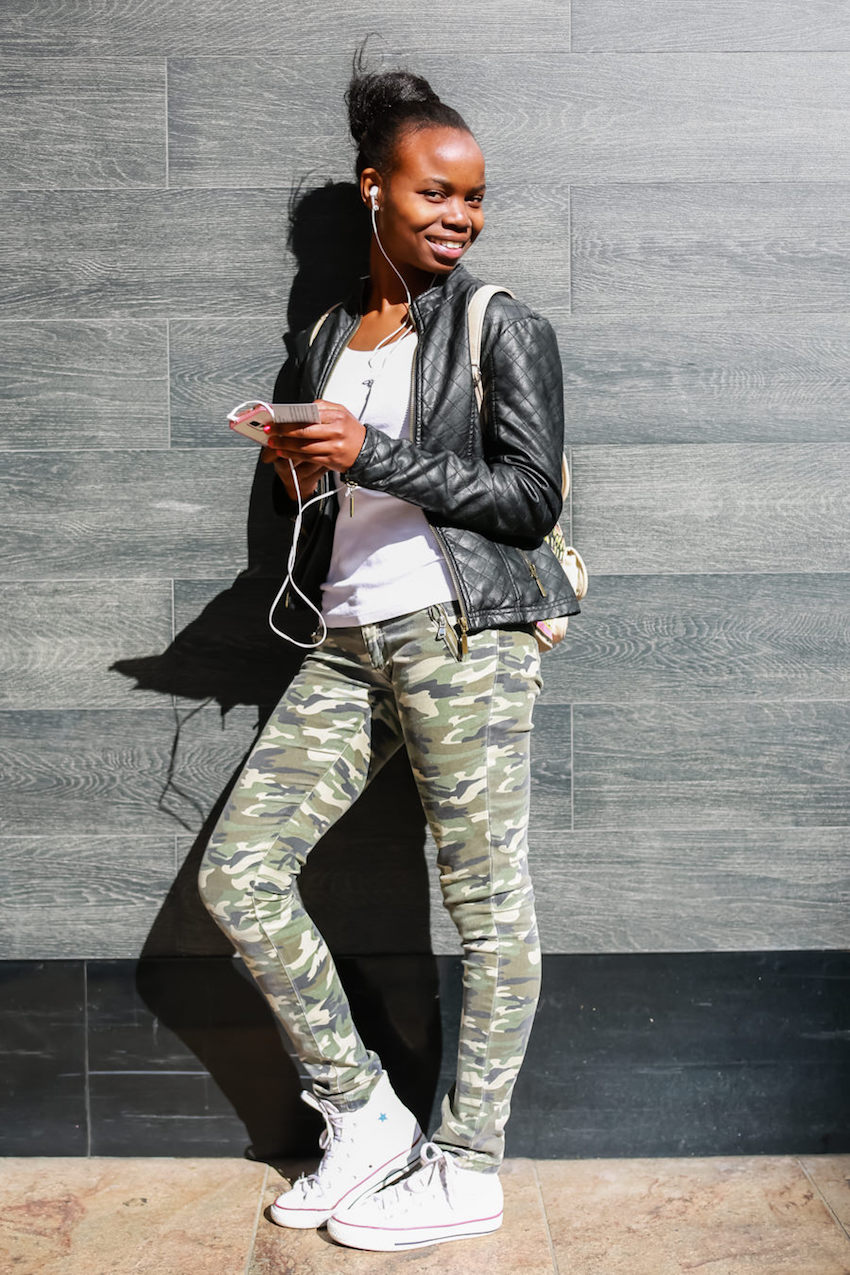 "WA: Daisy, Disability Support Worker, Murray St Mall. ""I love fashion."" Photo: <a href=""http://www.rahstudios.com.au/street-style.html/"" target=""_blank"">Alain Quah</a>"