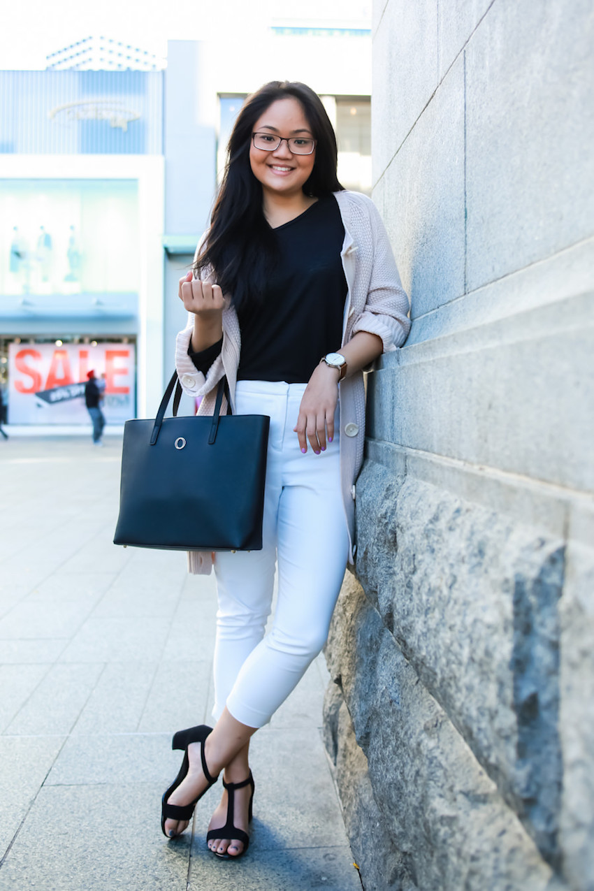 """WA: Sabrina Tan, Lawyer, Murray St. """"I usually throw on anything that I can rummage out of my closet, but I make sure the clothes are public-worthy."""" Photo: <a href=""""http://www.rahstudios.com.au/street-style.html/"""" target=""""_blank"""">Alain Quah</a>"""