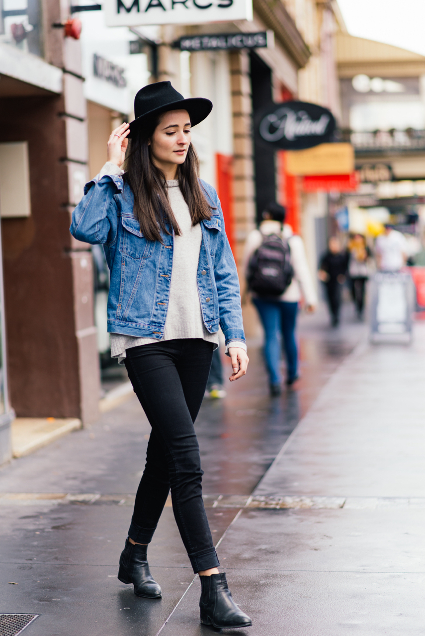 """SA: Rachel Wall, Student, Adelaide. """"I'm wering thermals because it is so dam cold."""""""