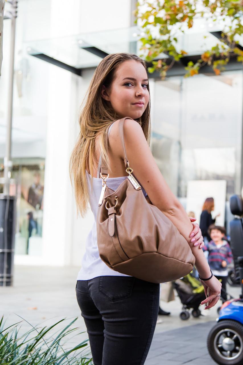 "WA: Rhiannon Dossel, student, Hay St Mall. Photo: <a href=""http://www.rahstudios.com.au/street-style.html/"" target=""_blank"">Alain Quah</a>"