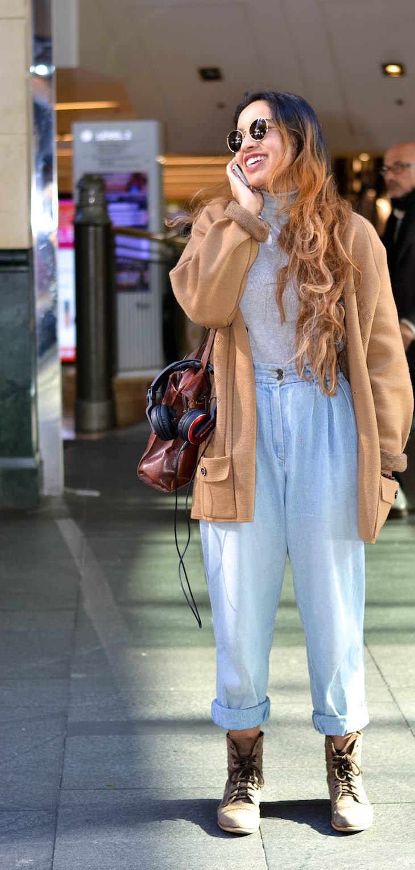 "NSW: Sara de Cruz, retail, Pitt St, Sydney. ""My style's inexpensive."""