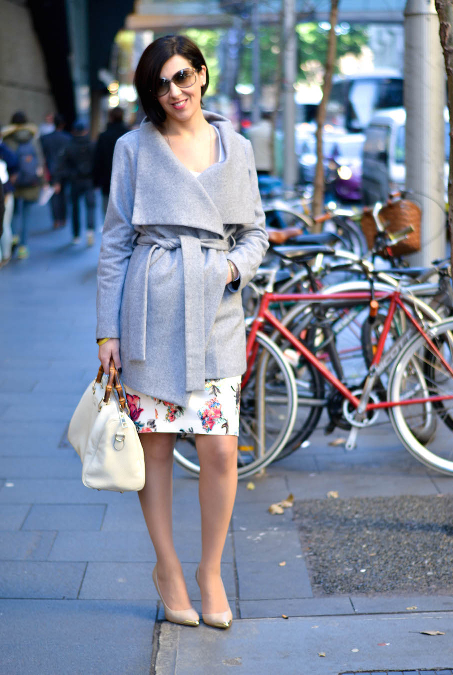 "NSW: Joanne Guidaci, events co-ordinator, Sydney CBD. ""I'd sum up my style as 'sexy elegance'."" Photo: Alice Scriberras"