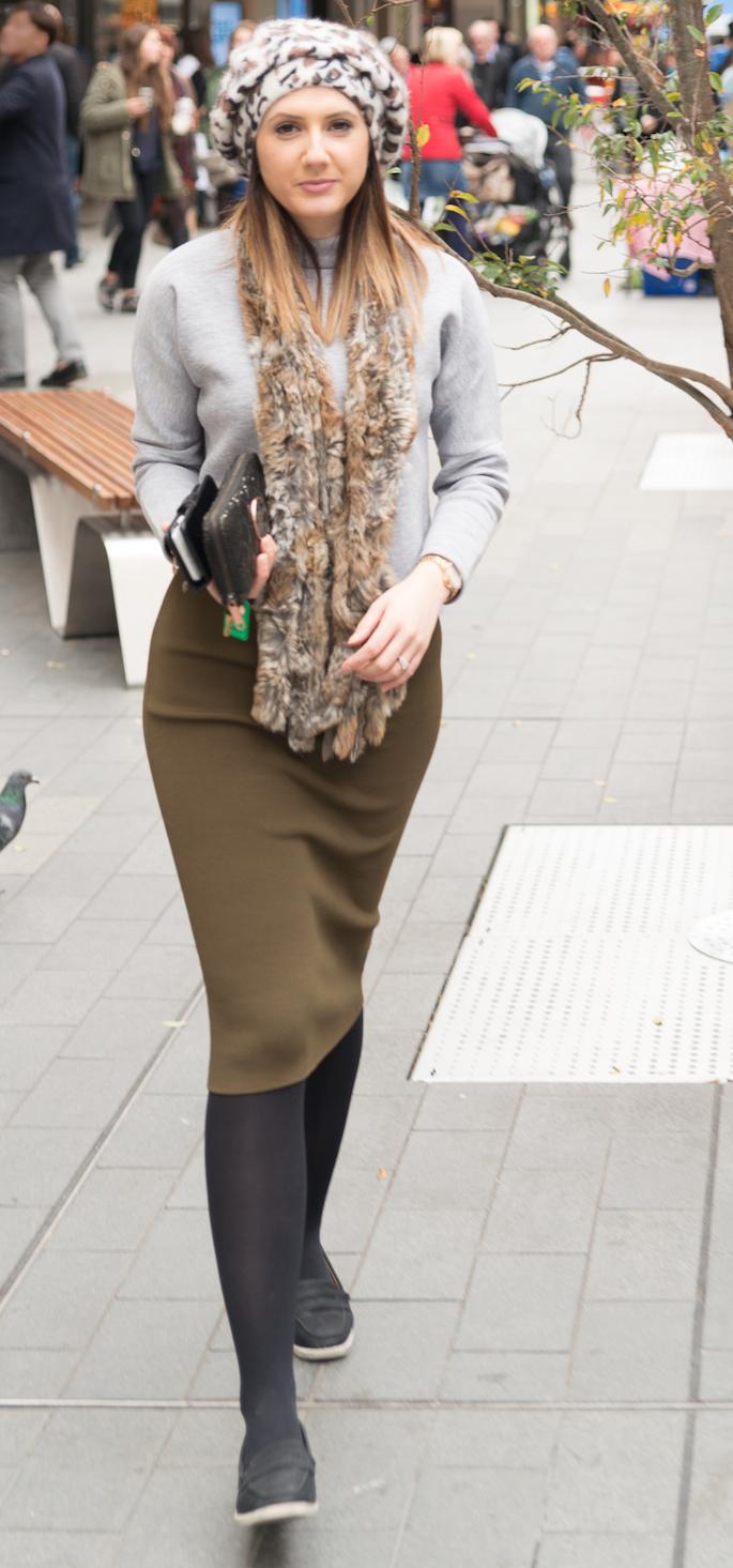 "SA: Marissa Haider, sales assistant, Rundle Mall. <a href=""http://www.foxowlphotos.com/"" target=""_blank""> Photo: John Wilson </a>"