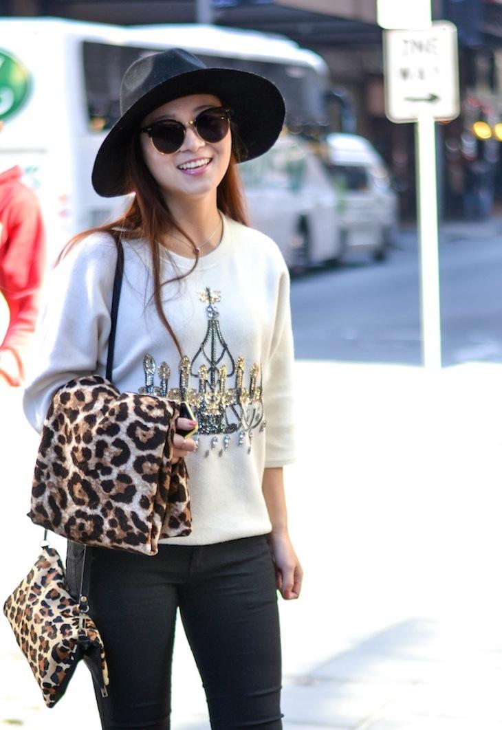"NSW: Shenny Yu, student, Pitt St. ""I love wearing hats."" Photo: Alice Scriberras"