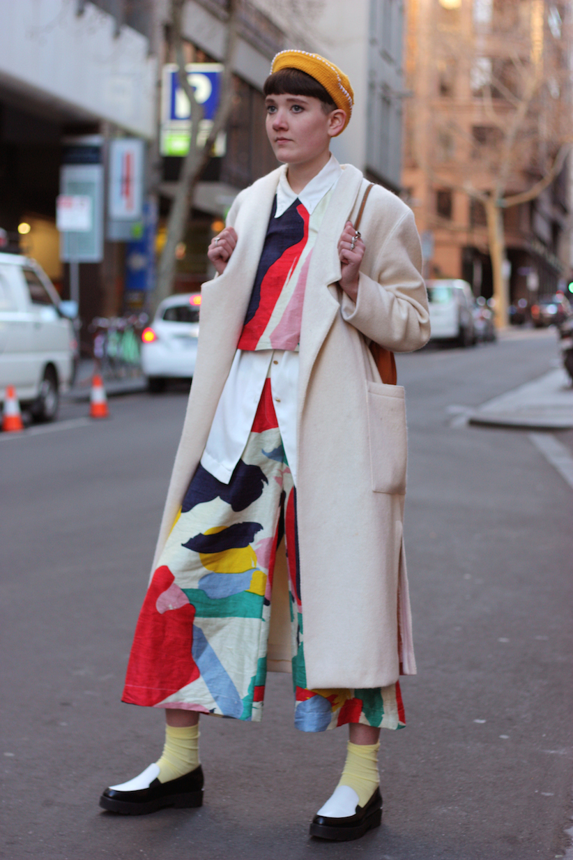 """Vic: Chloe Thomas, blogger, CBD. """"It shouldn't be this hard: recognize fashion rules and stray beyond them?"""" <a href=""""http://www.marythamphotography.weebly.com/"""" target=""""_blank""""> Photo: Mary Tham </a>"""
