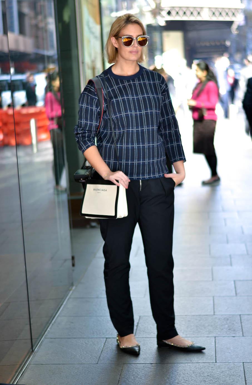"NSW: Elle Halliwell, journalist, CBD. ""My style is minimal, easy, understated."" Photo: Alice Scriberras."