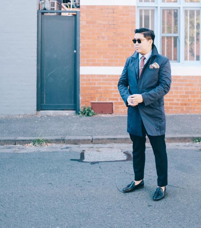 "NSW: Johnny Li, IT, Surrey Hills. ""Love men's accessories."" Photo: Joe Cheng"