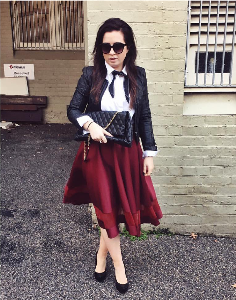 "NSW: Samantha Rose, Blogger. ""Love wearing skirts."""