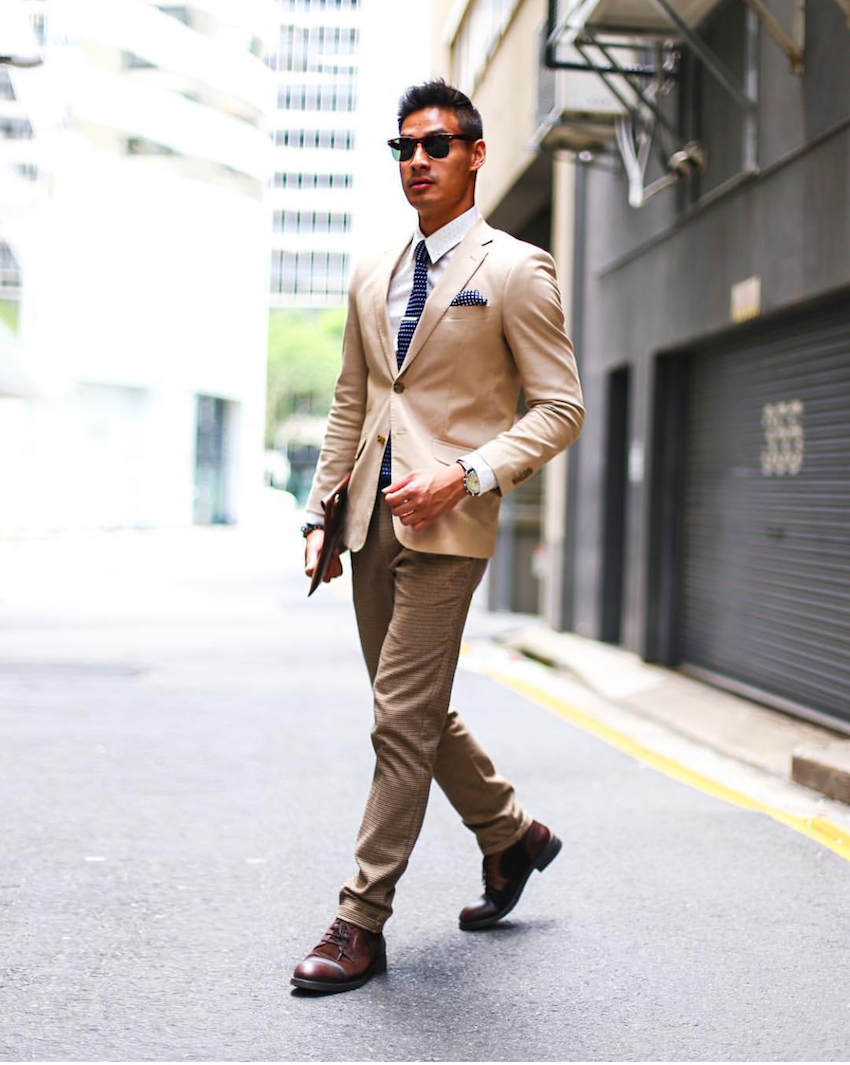 "Qld, Larry Lim, Blogger -The Simple Gentleman, Brisbane. ""Alley hangs shot"". Photo: Prano Sitthanakorn"