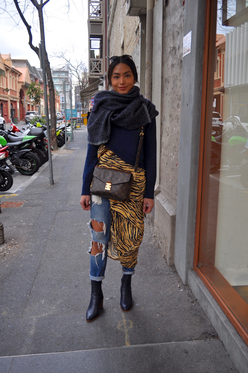 "SA: Anna Enriquez, retail, Union St.  ""I like wearing street wear. Photo: Stacey"
