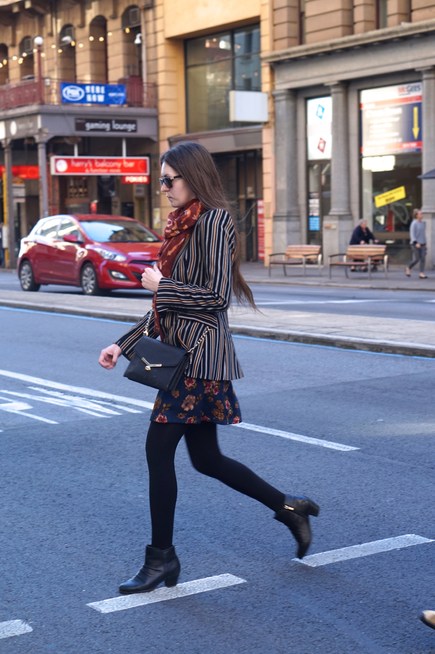 """SA: Kimberley, HR, Grenfell Street. """"I'm actually quite fond of my scarf."""""""