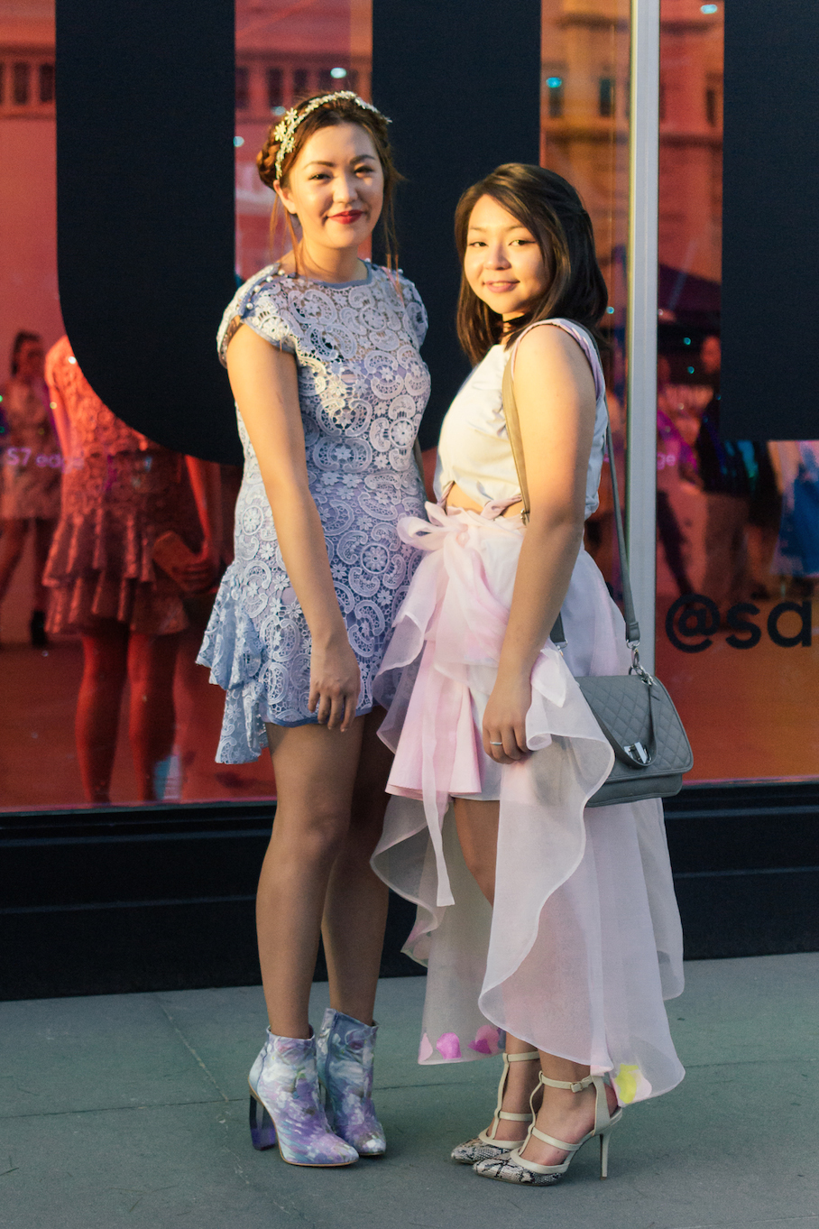 Vic: Kaz Jape, Receptionist  & Laura Foo, Writer, at VAMFF.