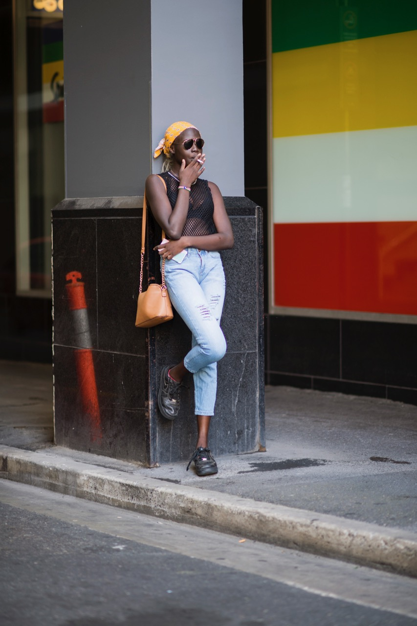 SA: Abuk Galuak, Rundle Mall. Photo: Eli Francis