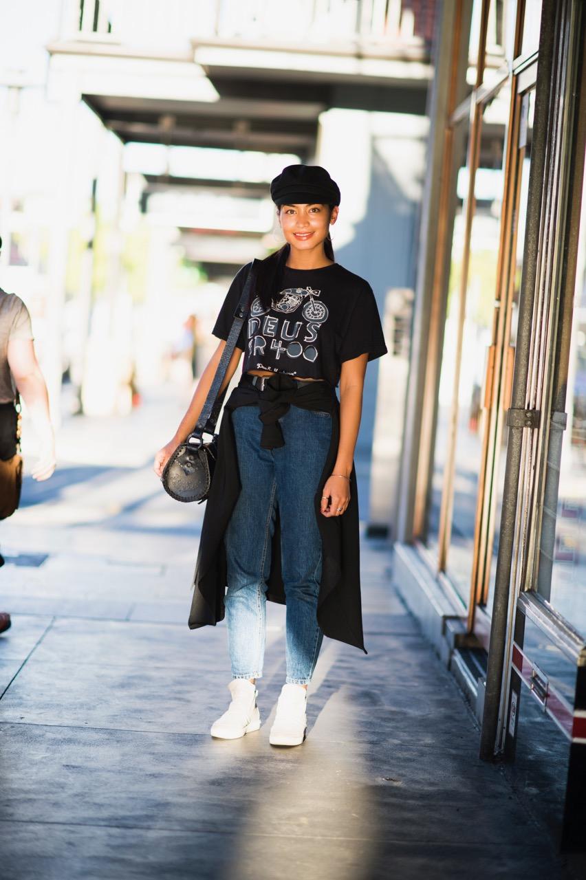 SA: Anna Enriquez, student, Rundle St East. Photo: Eli Francis