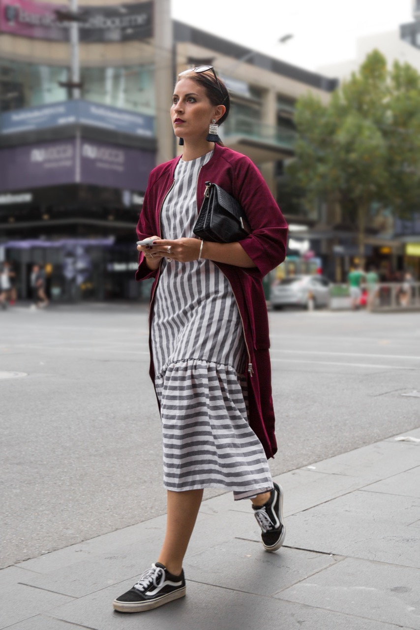 """VIC: Valentina Trevisan, designer, Elizabeth St. """"I used to work for Max Mara, now I have my own label."""" Photo: Libby Matson"""