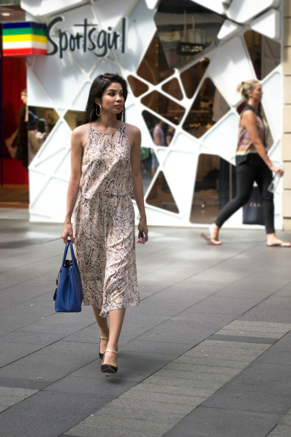 NSW: Piyane Ung, blogger, Pitt St. Photo: Alice Sciberras