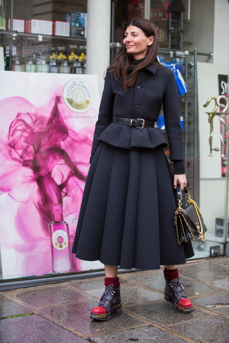 "Paris: <a href=""http://fashionista.com/"">Fashionista</a>"