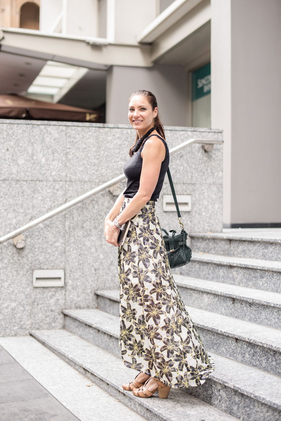 "NSW: Carly Pattison, Recruiter, Bridge St, Sydney. ""I love bright colours and things I can wear in the office and out socially."" Photo: <a href=""http://frederiquemadi.com/"" target=""_blank"">Frédérique Madi </a>"