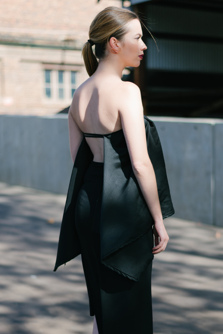 NSW: Emma O'Rourke, Designer, Fashion Week, Sydney.