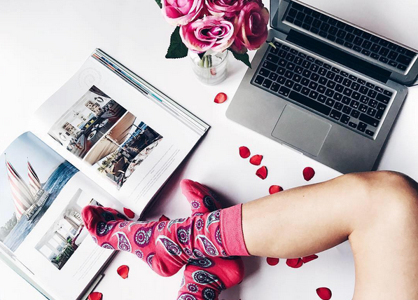 "Happy Socks. Photo: <a href=""http://www.instagram.com/letitbe/"" target=""_blank"">@letitbe</a>"