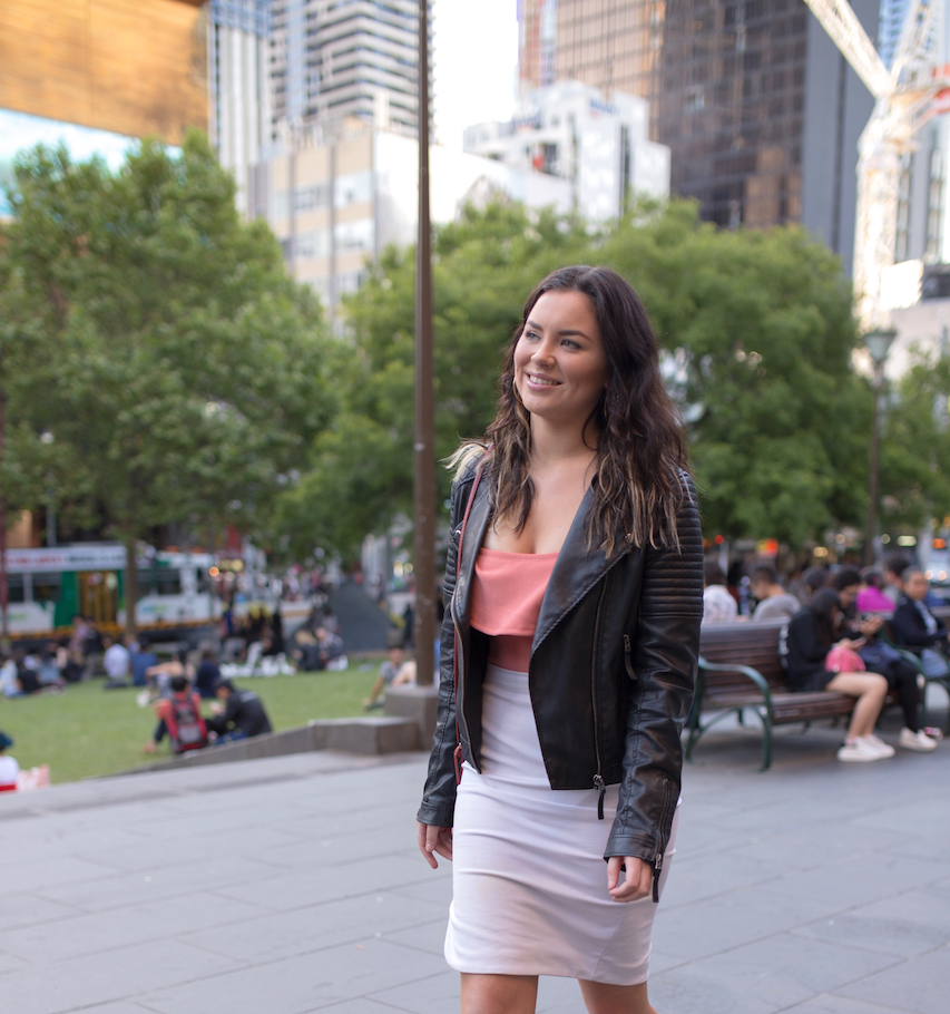 "Vic: Jordan Hogg, student, Melbourne. ""My style's fresh and classy."" Photo: Ryan Murch."