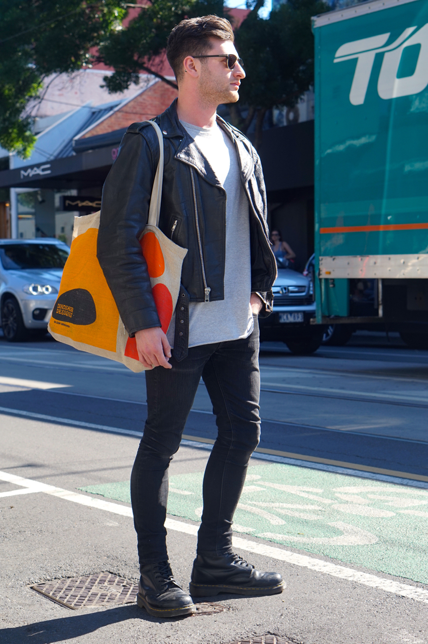 "Vic: Corey Ashford, South Yarra. ""My style is modern, minimal, relaxed."""
