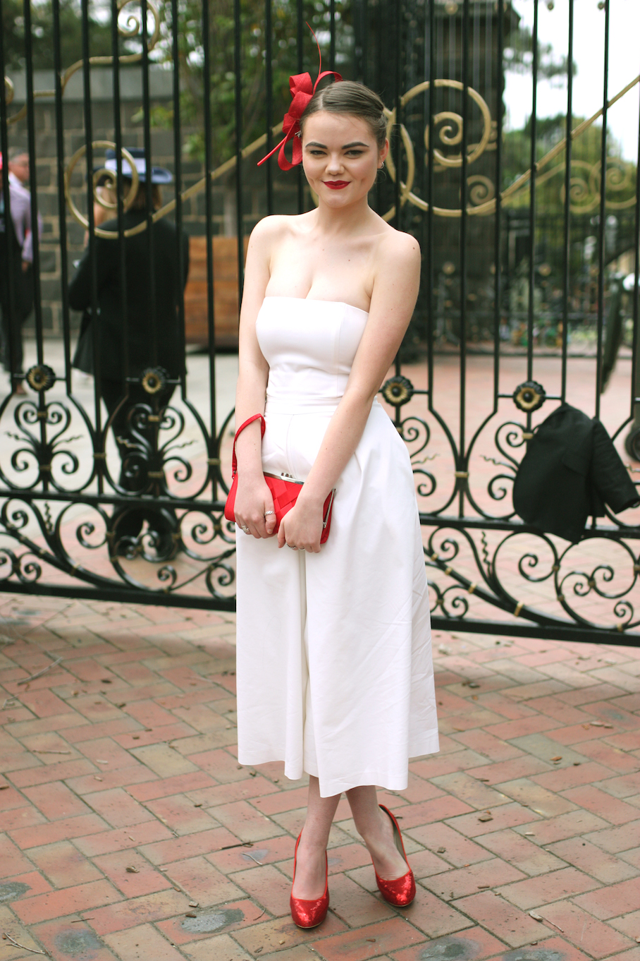 "Vic: Caitlin McMillen, student, Flemington. ""My style is classic, while styled on a budget."" Photo: <a href=""http://www.marythamphotography.weebly.com/"" target=""_blank"">Mary Tham </a>"