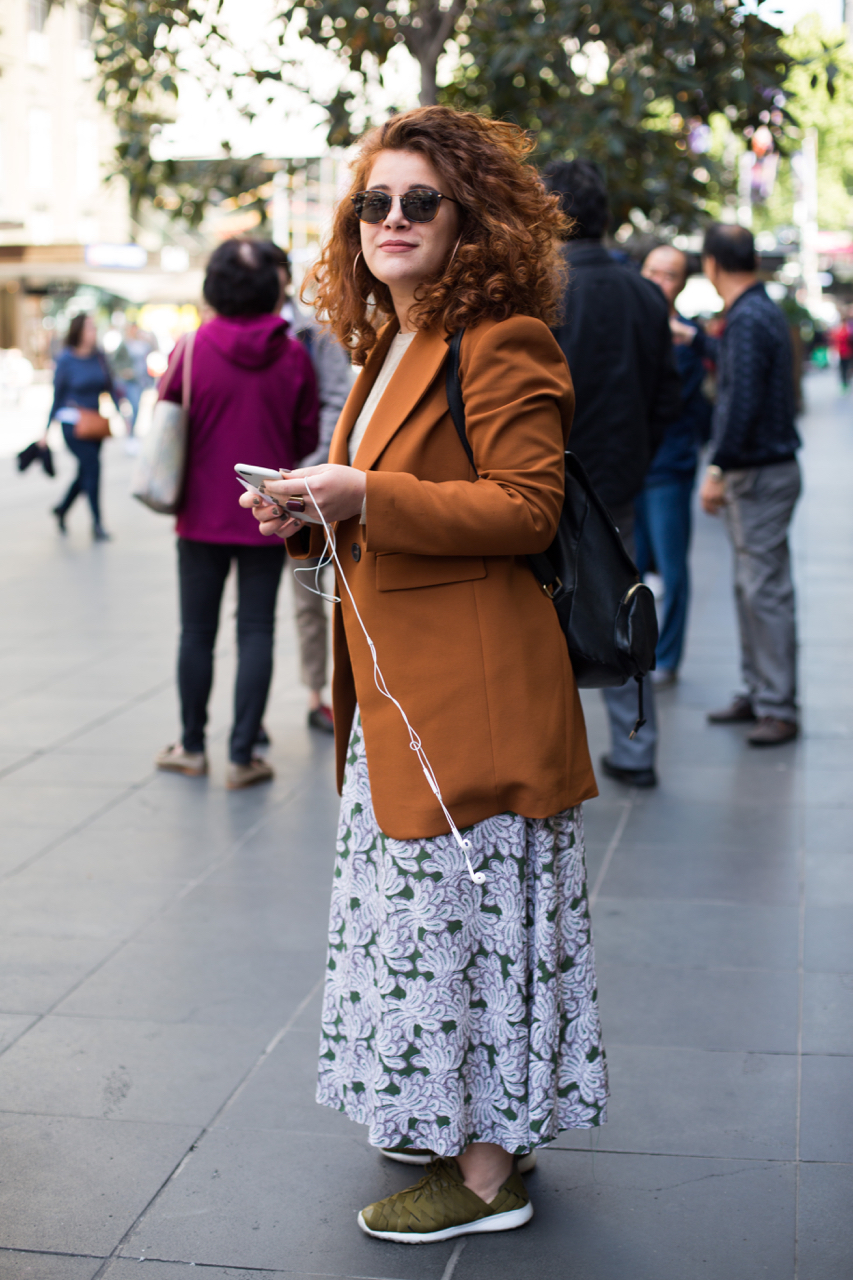 VIC: Rossella Pastore, Stylist, Melbourne. Photo: Zoe Kostopoulos