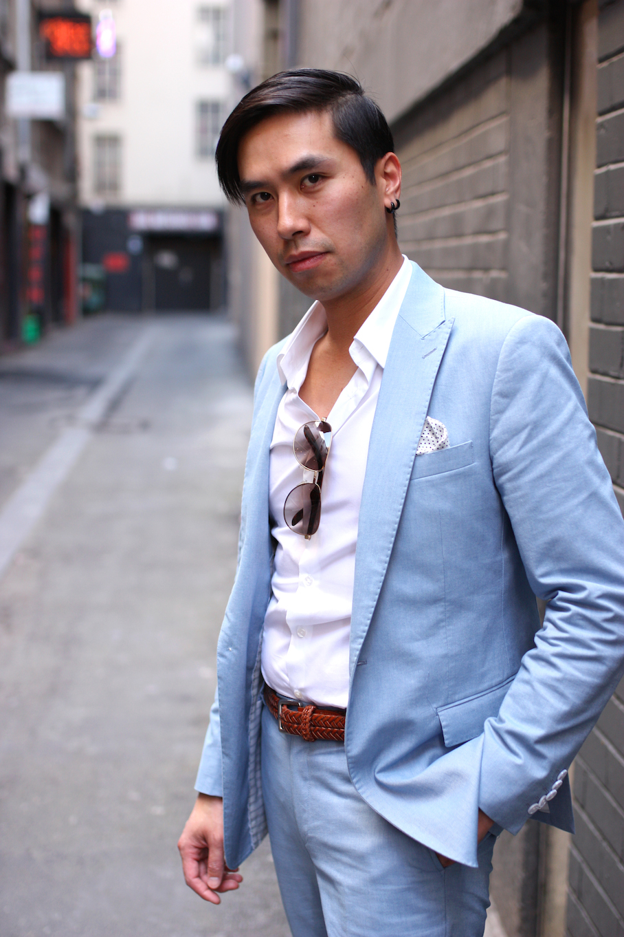 """Vic: Dat Nguyen, Saels Consultant, Little Collins St. """"My style is suits, suits and more suits."""" Photo: <a href=""""http://www.marythamphotography.weebly.com/"""" target=""""_blank"""">Mary Tham </a>"""