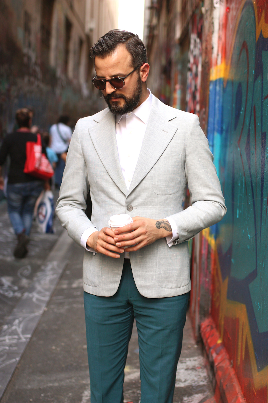 "Vic, Jon Cordiano, Retail/Fashion Design, Melbourne. ""My styles is dapper with a dash of street."" Photo: <a href=""http://www.marythamphotography.weebly.com/"" target=""_blank"">Mary Tham </a>"