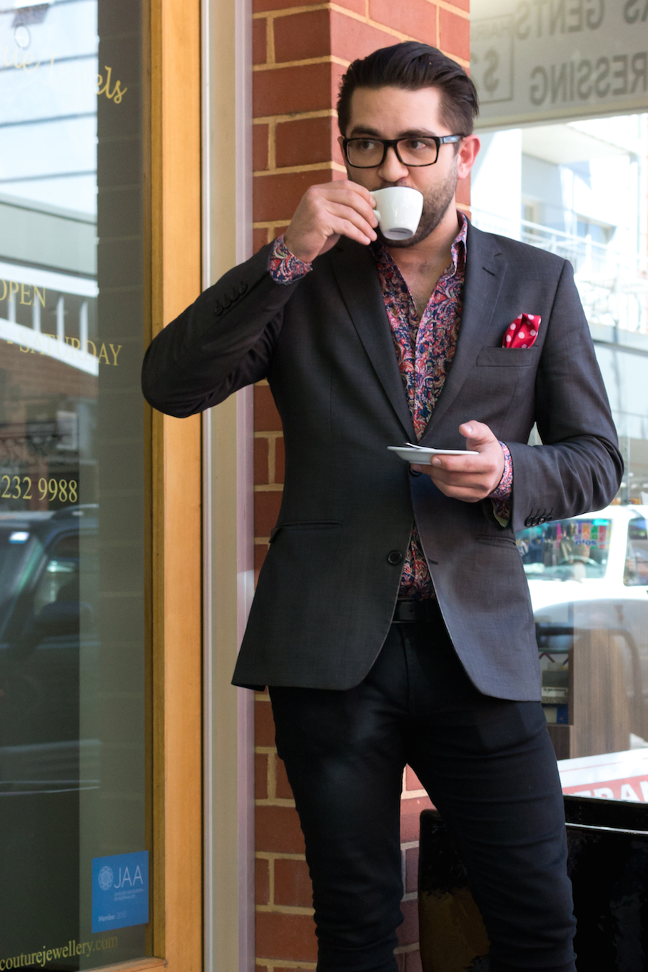 "SA: Aaron Fenwick, General Manager, Vardon Ave, Adelaide. ""I seem to always overdress."""