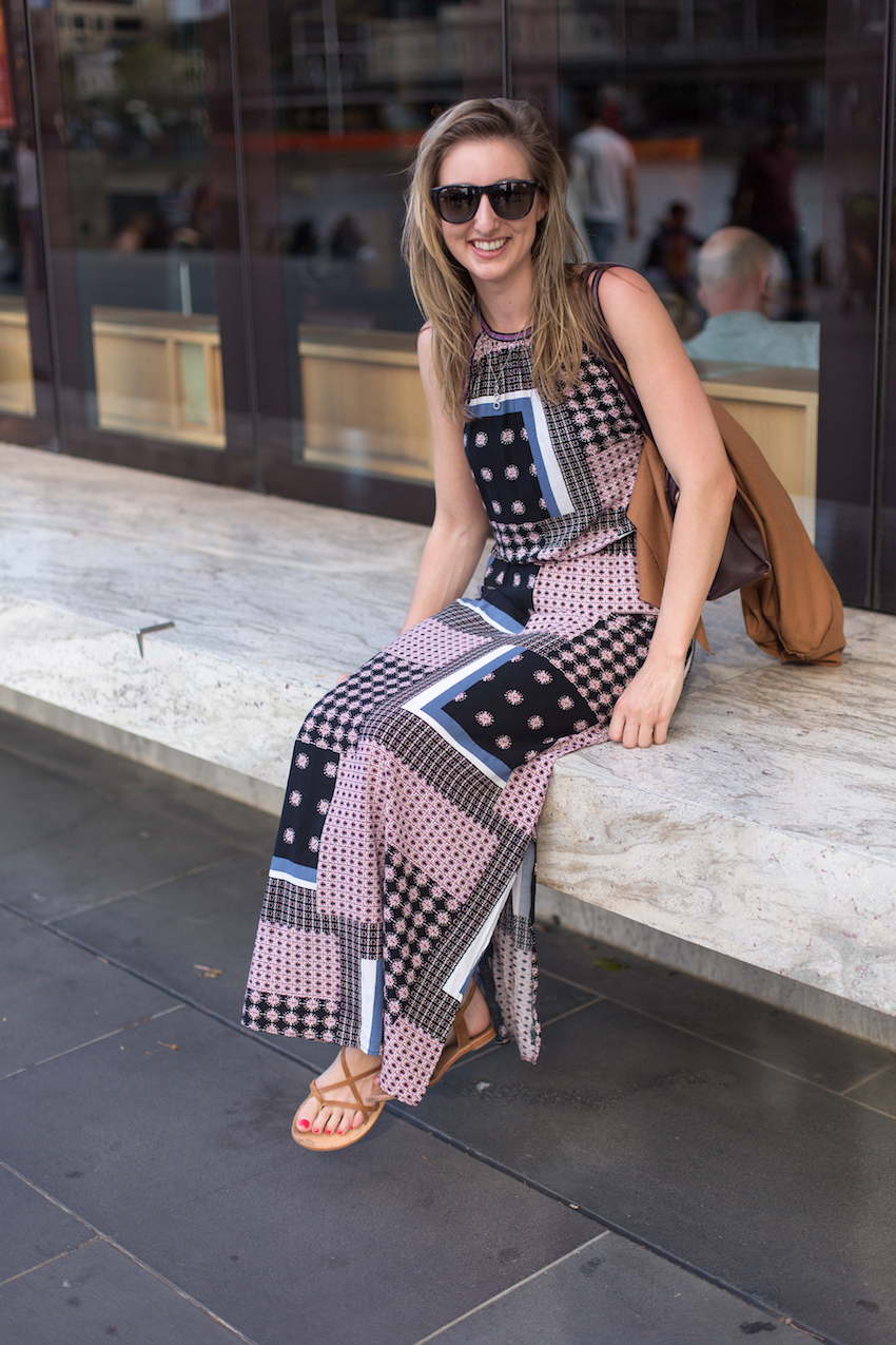 "Vic: Frances McNulty, Engineer, Melbourne CBD. ""My style's boho chic."" Photo: Ryan Murch"