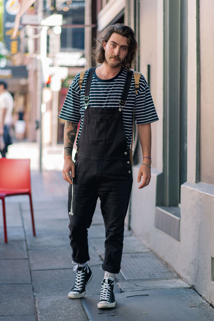 "SA: Nate Trittuf, Rundle St. ""I wear whatever my twin isn't wearing."""