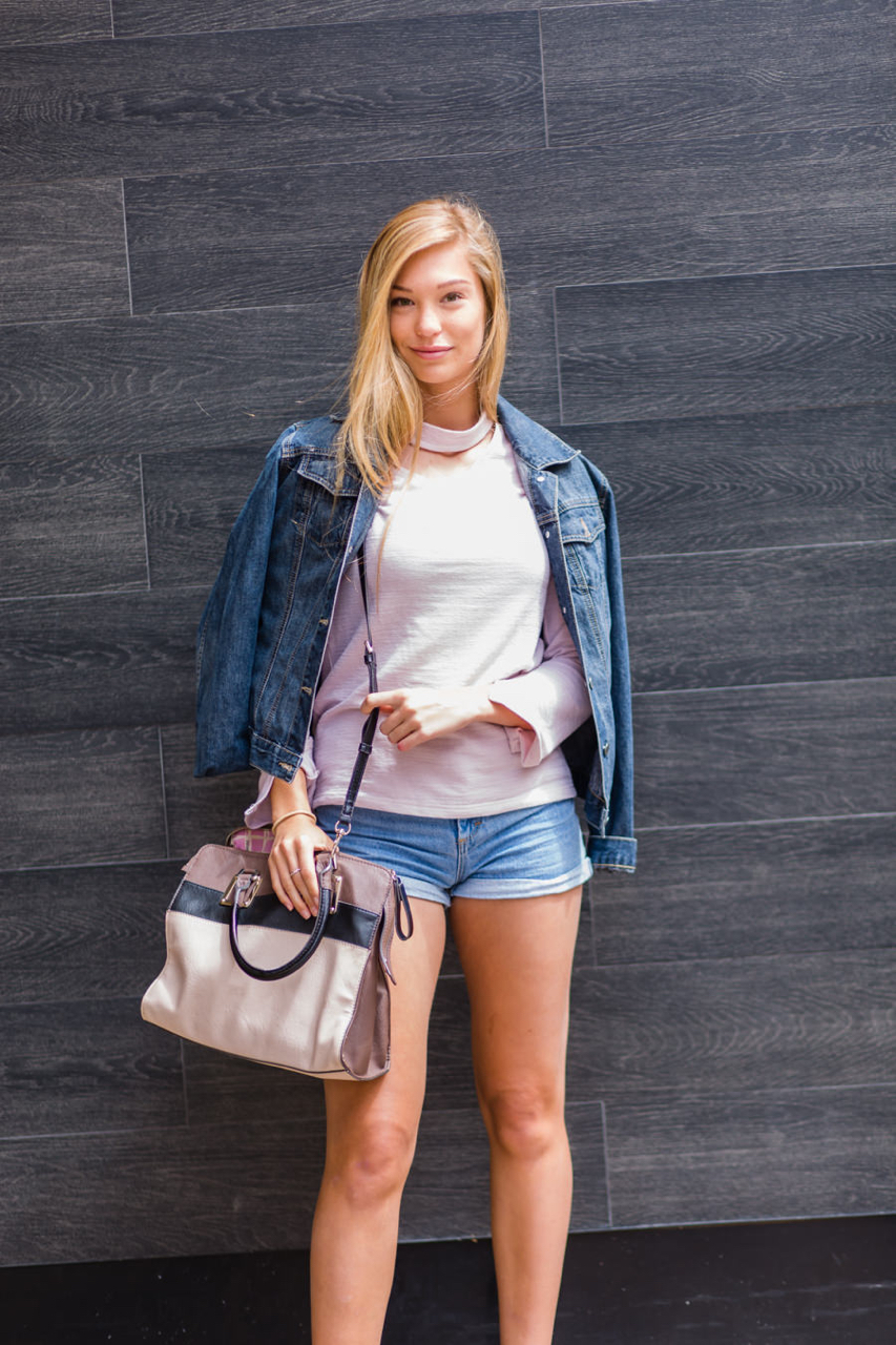 "WA: Jessica, Student, Murray Street Perth. ""It's casual chic."" Photo: <a href=""http://www.rahstudios.com.au/street-style.html/"" target=""_blank"">Alain Quah</a>"