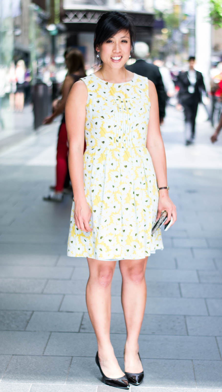 "NSW:  Euphemia Foo, Analyst, Pitt St, Sydney. ""I just buy things I like!"" Photo: Alice Scriberras."