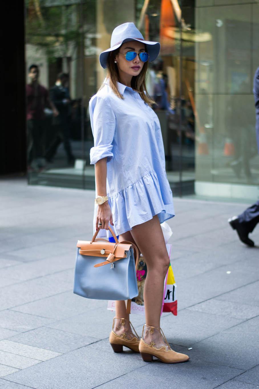 "NSW: Roula Dib, Fashion Designer, Pitt St. ""I'm a cosmopolitan fashinista."" Phot: Alice Scriberras."