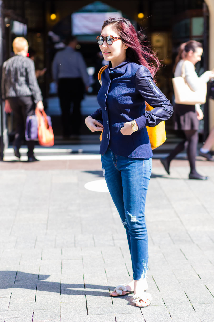 "WA: Adira Artika, Entrepreneur, Perth CBD. ""I like to dress up nice all the time."" Photo: <a href=""http://www.rahstudios.com.au/street-style.html/"" target=""_blank"">Alain Quah</a>"