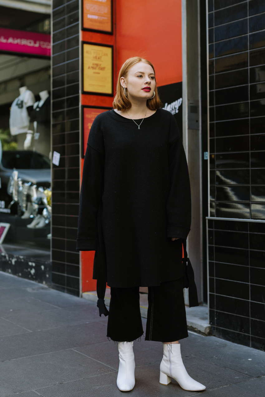 "VIC: Bethany Sturt, Little Collins St. ""Just plain and simple."""