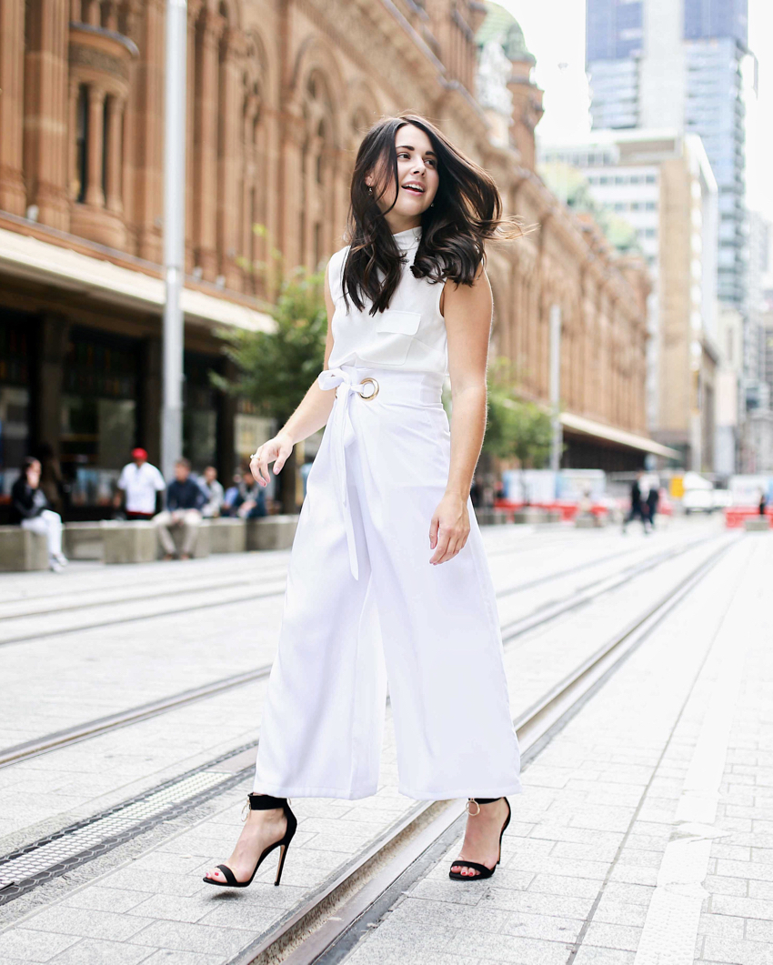 "NSW: Jemma, Sydney CBD.  ""I love to wear items that aren't necessarily on trend, but showcase my own person style."" Photo: Simona Razmoska"