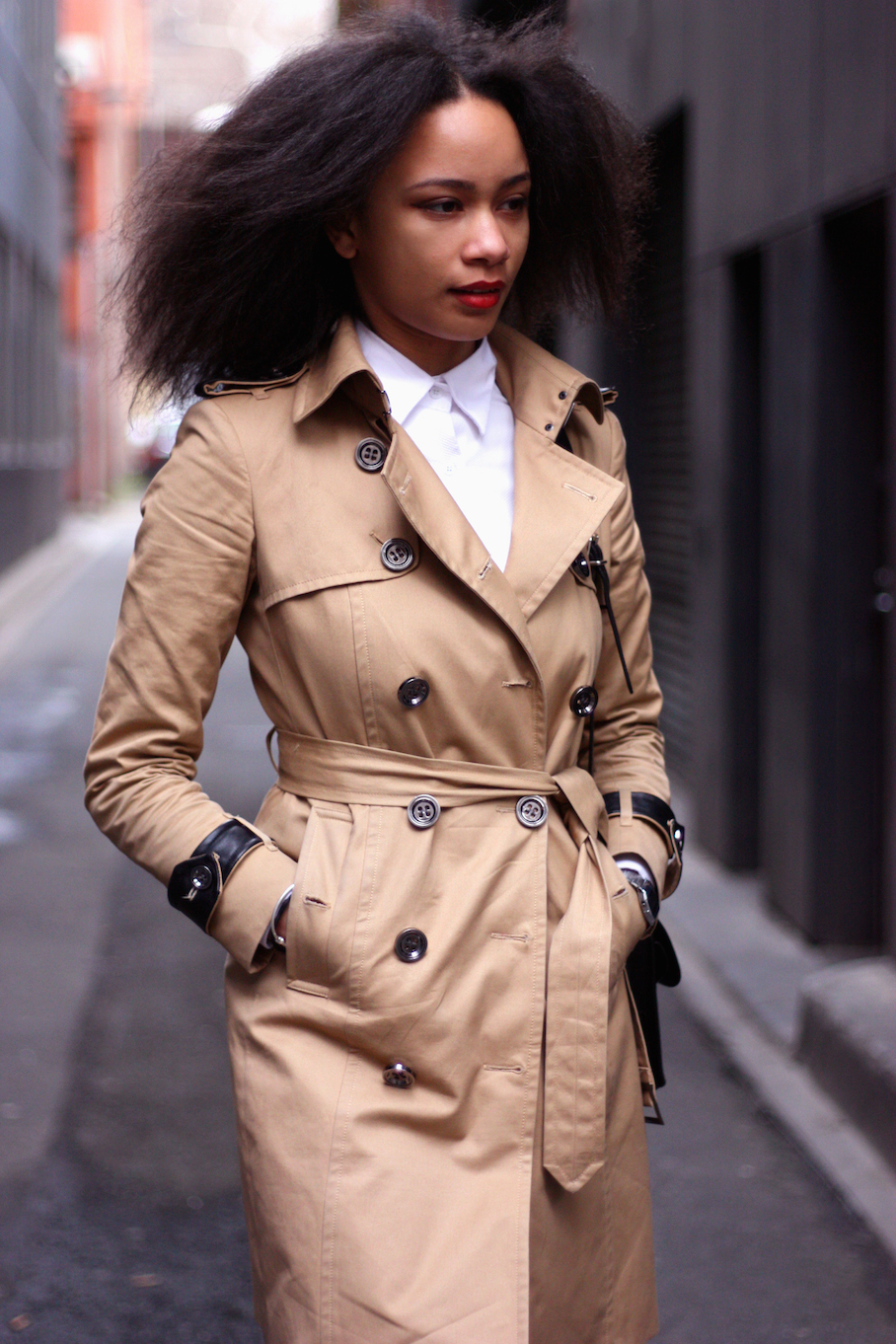 """Vic: Aurelia Bode, Assistant Manager, Little Bourke St, Melbourne. """"My style is a mix of high and low end, street and runway…""""  <a href=""""http://www.marythamphotography.weebly.com/"""" target=""""_blank""""> Photo: Mary Tham </a>"""